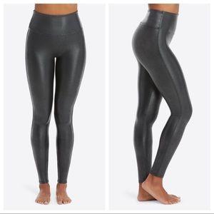 Spanx Faux Leather Leggings Black XS